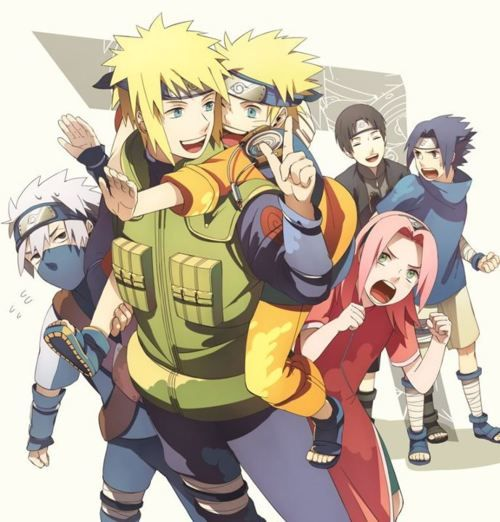 ;w; I don't understand Kakashi's age, but who cares. ;w;
