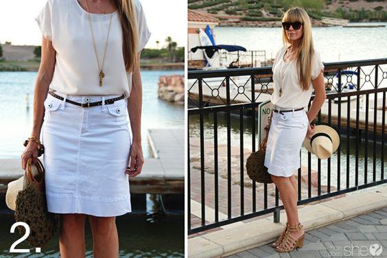 """5 Summer Lovin Skirts under $50 ✮✮Feel free to share on Pinterest"""" ♥ღ www.MEANDWII.com: Lovin Skirts, Time Fashion, Summer Lovin, Summer Time"""