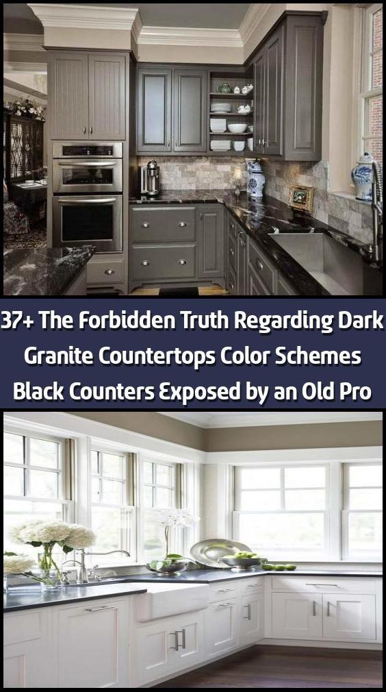 37 The Forbidden Truth Regarding Dark Granite Countertops Color