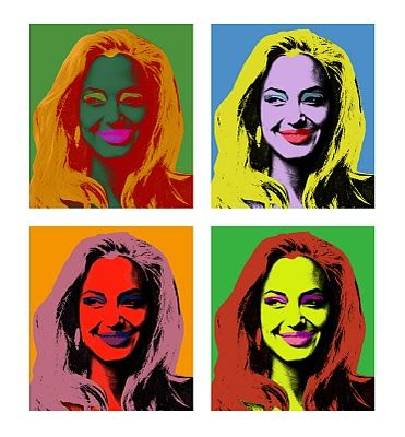 Angelina #Warhol styled by me ;)