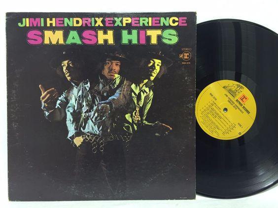 Jimi Hendrix Experience Smash Hits Reprise - MSK 2276 LP #Vinyl Record
