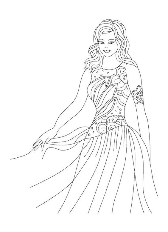 Prinsessen Malvorlagen