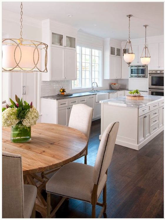 Kitchen And Breakfast Room Design Ideas Lighting Ideadining Kitchen Open To Dining Room For The Home