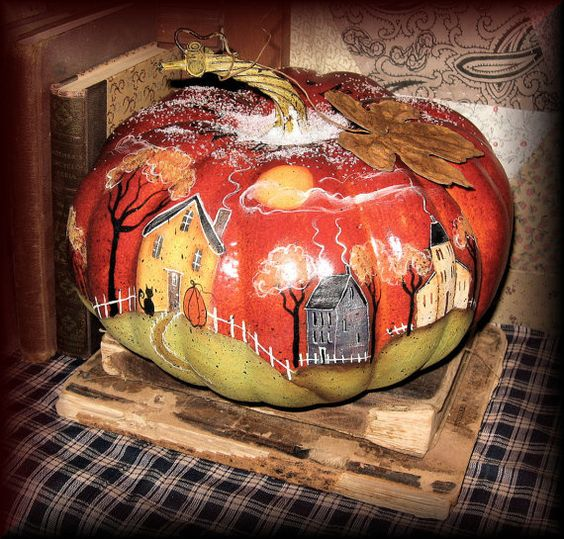 the frost is on the pumpkin