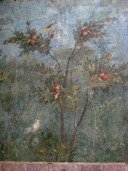 villa-livia-oranges /In Rome, there is an amazing series of museum buildings and collections that make up the Museo Nazionale Romano. This fresco is located in the Palazzo Massimo alle Terme: