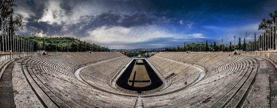 Panathenaic Stadium Panorama by Tasos Koutsiaftis on 500px