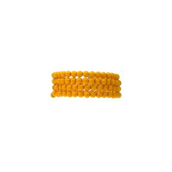 Spiral Bead Bracelet ❤ liked on Polyvore featuring jewelry, bracelets, accessories, beading jewelry, beaded bangles, beaded jewelry, bead jewellery and spiral jewelry
