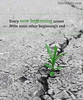 Today is a day of new beginnings!