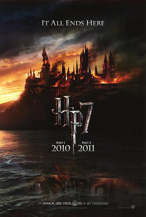 [ HARRY POTTER AND THE DEATHLY HALLOWS: PART ONE POSTER ]: