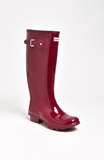 Hunter 'Huntress' Boot (Wide Calf) (Women) available at #Nordstrom