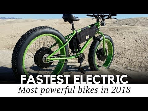 Top 10 Fastest Electric Bicycles With Motorbike Speeds 2018