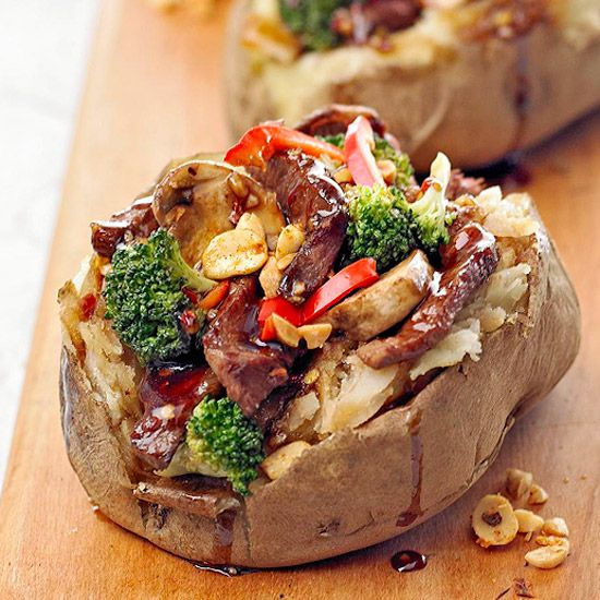 Easy Recipes For Weeknight Dinners Stuffed Potatoes Vegetables And Stir Fry