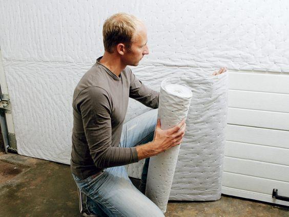 Isolant thermique et phonique pour porte de garage - CASTORAMA