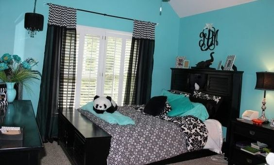Bedroom ideas for teenage girls teal harah eitnewhome for Ideas for teenage girl bedroom designs