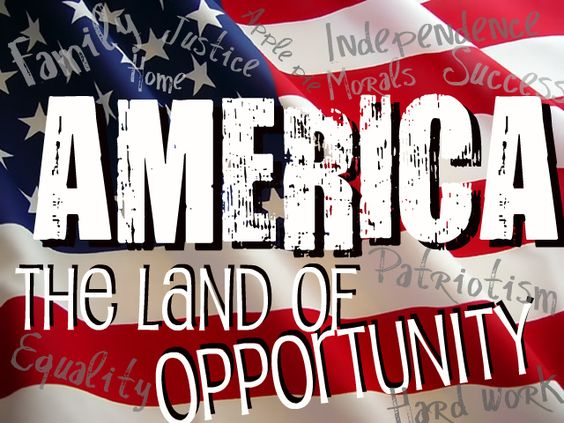 america land of opportunity America is known as the land of opportunity but whether it deserves this  reputation has received too little attention instead, we seem mesmerized by data  on.