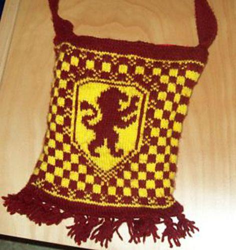 Ravelry: IM4MAN's Gryffindor Bag