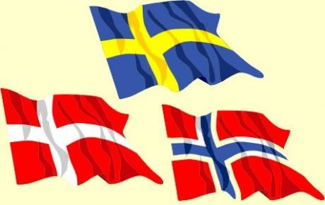 nordic countries flags