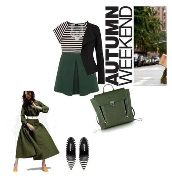 """""""Untitled #380"""" by catalinastefania17 on Polyvore featuring Alexander McQueen, Alice + Olivia, Manolo Blahnik, Lucky Brand, Donna Karan and 3.1 Phillip Lim"""