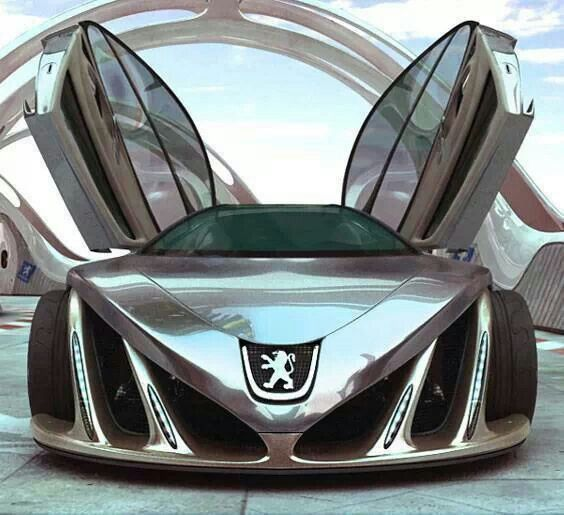 Future car, The 9 (The Nine)(Peugeot ... Not Bugatti.... Just fantastic) ❤️❤️
