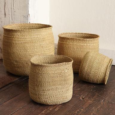 Tanzanian Village Baskets, Set Of 4