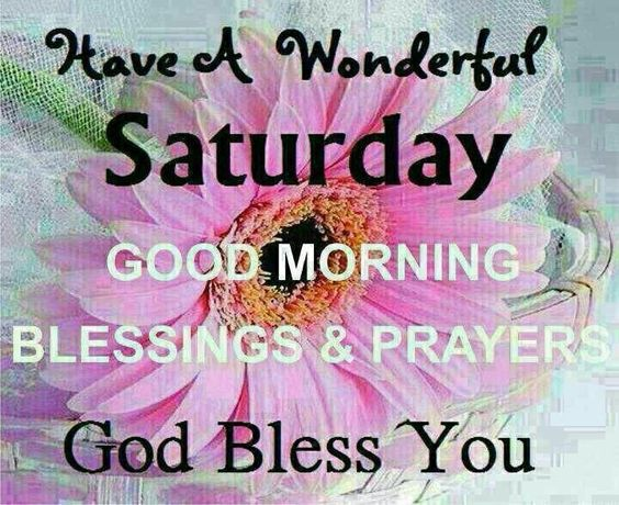 Have A Wonderful Saturday ~