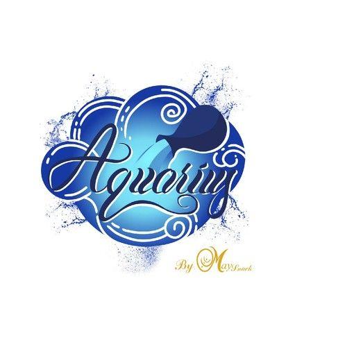 Aquarius Creative New Logo For Deserts And Pastries Deserts