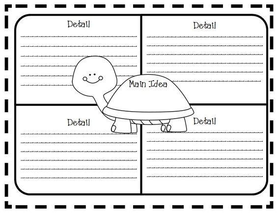Main Idea Teaching Activities Book Units Teacher Graphic Organizers Free Graphic Organizers Main Idea Graphic Organizer Main idea first grade worksheets
