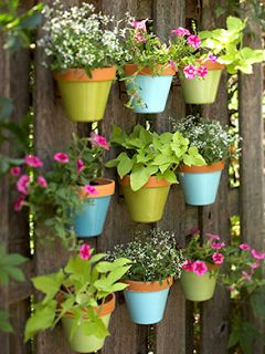 Frugal Life Project: Make Colorful Flower Pots!
