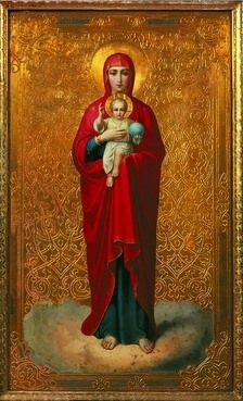 Icon of the Valaam Mother of God
