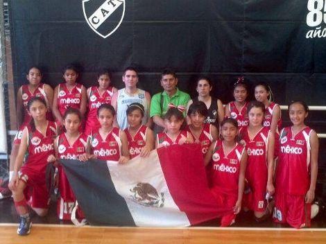 Reciben en Puebla a las basquebolisas que ganaron en Argentina - http://www.bloquepolitico.com/reciben-en-puebla-las-basquebolisas-que-ganaron-en-argentina/