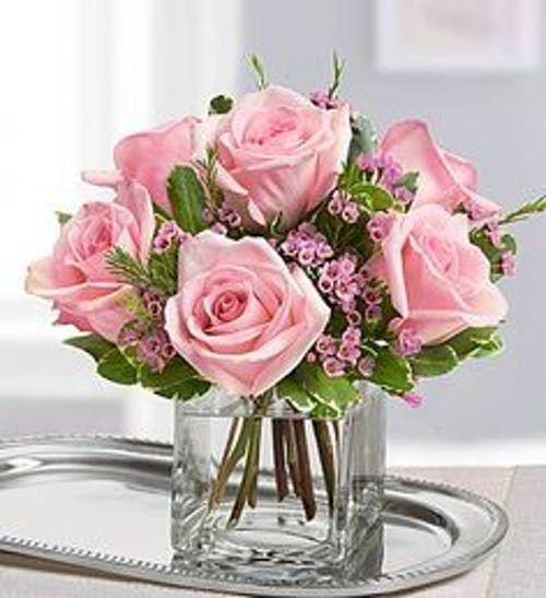 Lovely Pink Roses Flower Arrangements Floral Arrangements Rose Arrangements