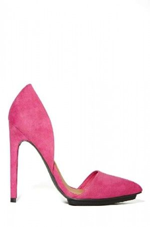 Shoe Cult Nicole Pump - Pink
