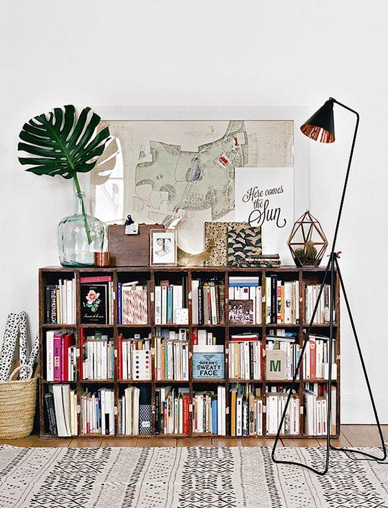 Biblioteca para el quincho o alguno de los dormitorios.