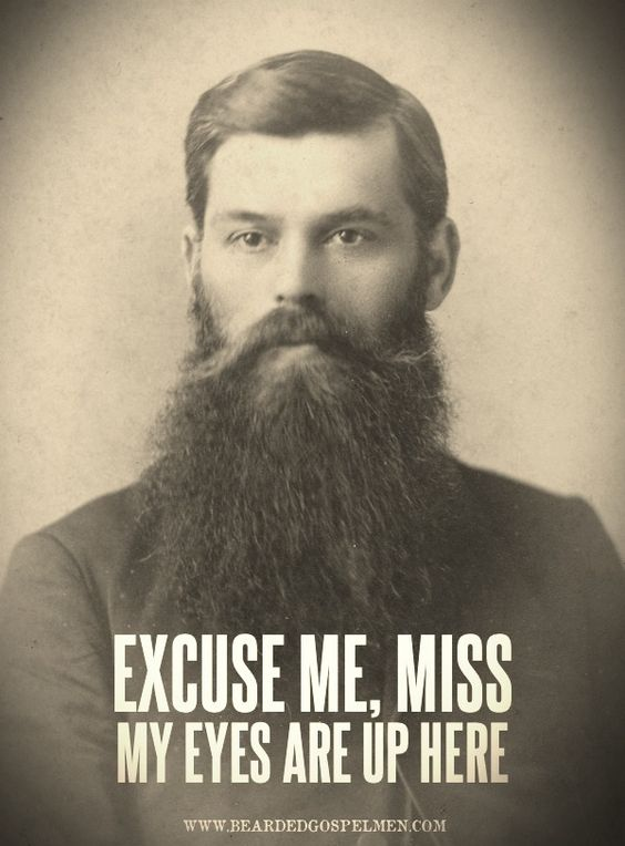 beards on beards on beards on beards.