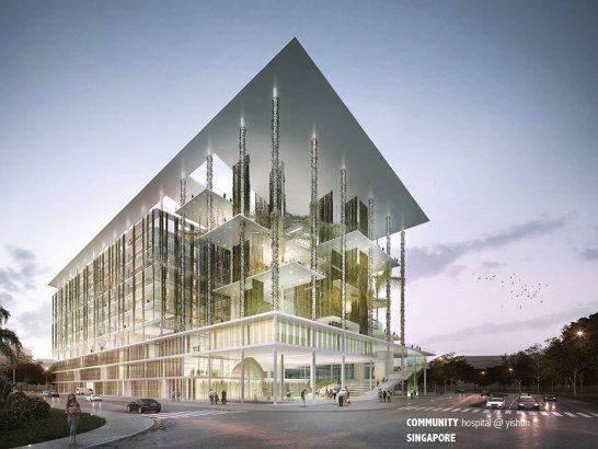 Community Hospital Yishun Gensler Hdr Architecture Singapore Singapore Built With Purpose