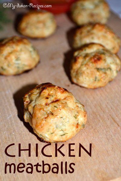 Chicken meatballs   DUKAN DIET RECIPES