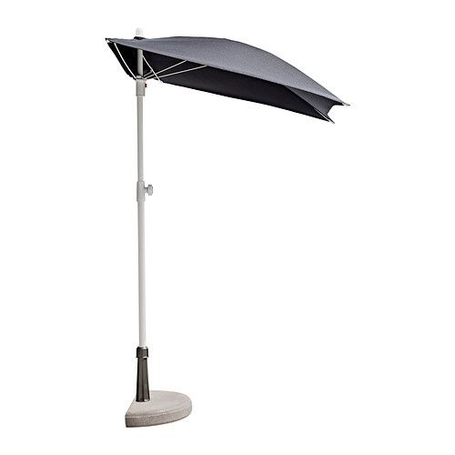 IKEA Half Patio Umbrella | Interiors And Exteriors | Pinterest | Patio  Umbrellas, Umbrellas And Patio