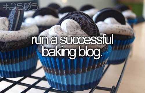 Would be so nice, I love Cooking and Baking, would be Awesome to Share with the World :)