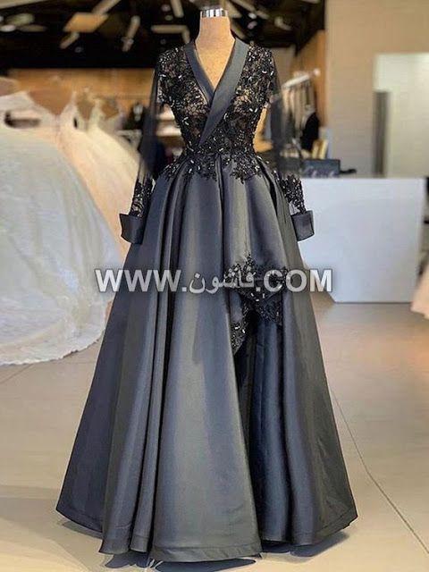 موديلات مختلفة من فساتين السواريه للمحجبات تصميمات عام 2019 Women S Evening Dresses Grey Prom Dress Long Grey Prom Dress