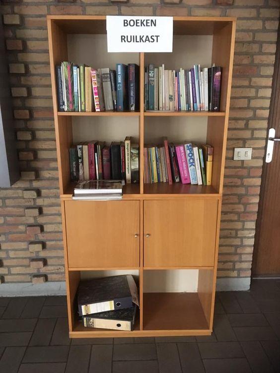 Boekenruilkast Hoevenen