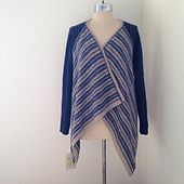 Ravelry: TheresaSchabes' Upcycled Cashmere Swing Cardi: