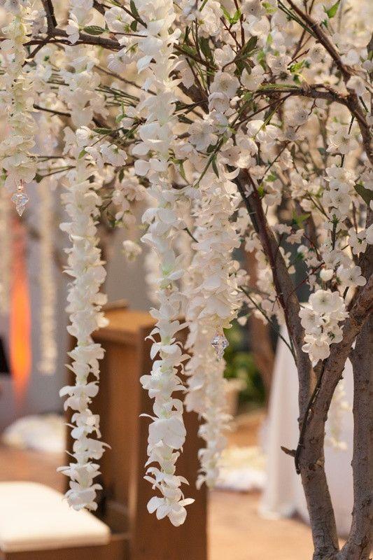 Tree Branch Wedding Decor New Elegant White Lavender Ballroom Wedding With Cherry Tree Wedding Ceremony Blossom Tree Wedding Tree Wedding