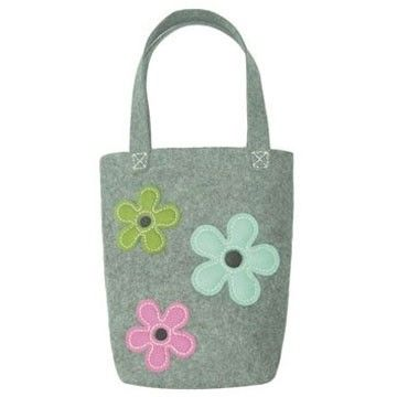 Make Your Own Feltcraft Grey Shoulder Bag Kit Get Crafty! have lots of fun making this Grey Felt Shoulder Bag and then wear it proudly