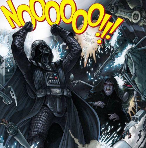 Vader depois de ler essa adaptação