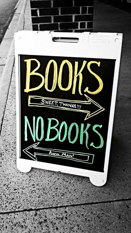 Brooklyn, NY | 15 Hilarious Bookstore Chalkboards: