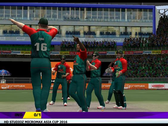 2016 Asia Cup Game Images