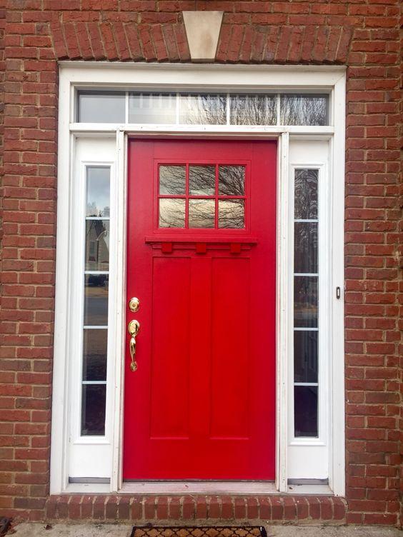 sherwin williams positive red perfect front door color paint pinterest colors front door. Black Bedroom Furniture Sets. Home Design Ideas
