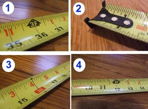 The Easy Way To Read a Tape Measure--Even If You Hate Math: How To Read a Tape Measure...Even If You Hate Math