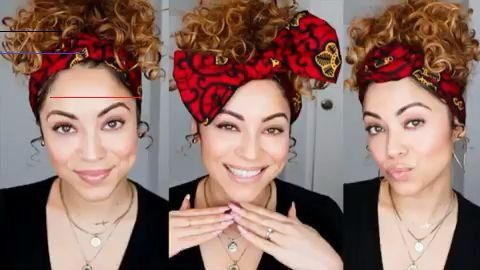 3 Ways To Style A Shortie Headwrap From Cee Cee S Closet Nyc Headscarfstyles In 2020 Hair Scarf Styles Hair Wrap Scarf Scarf Hairstyles