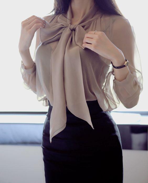 awesome Модные блузки из шифона (50 фото) — Актуальные оттенки и новинки 2017 Читай больше http://avrorra.com/bluzki-iz-shifona-foto/